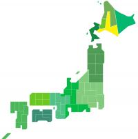 日本地図(道央)