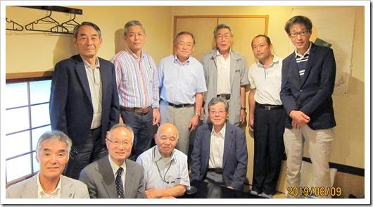 九州地区酪農学園同窓会総会・理事会 2019.06.09.