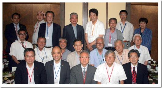 京都・滋賀支部合同総会集合写真2019